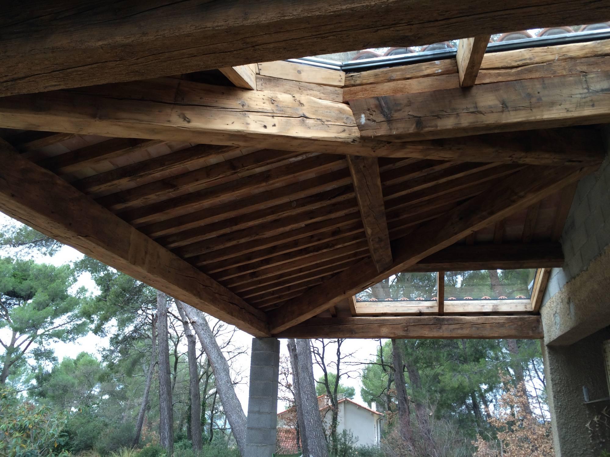 Création terrasse couverte sur Aix-En-Provence - Fabrication ...